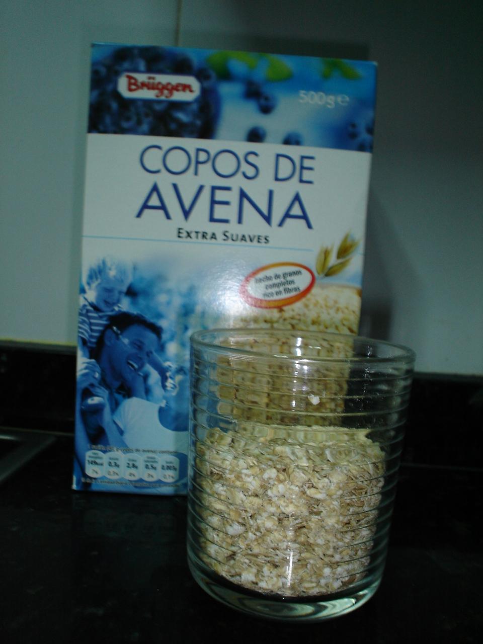 Cosas de harne mi desayuno oatmeal o gachas de avena - Copos de avena bruggen ...