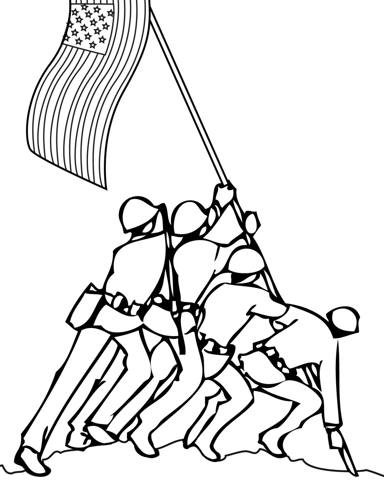 flag coloring pages vietnam - photo#20