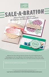 Sale-A-Bration zweite Ausgabe