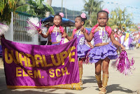Opening parade, guadalupe elementary school