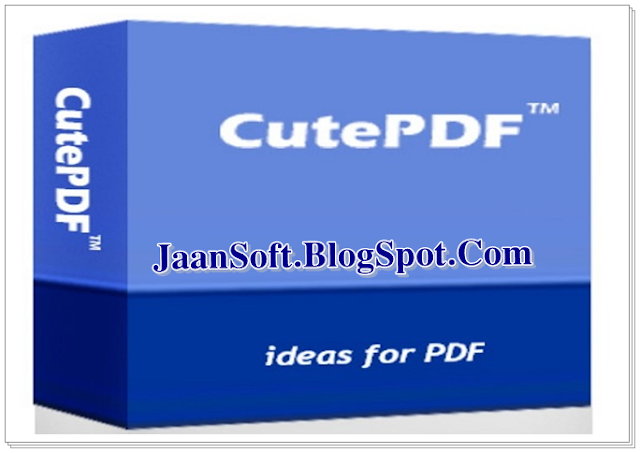 CutePDF Writer 3.0.0.9 For Windows Full Download