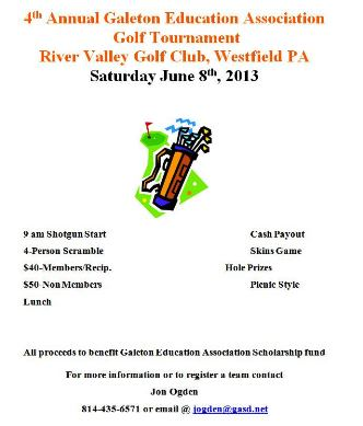 6-8 Golf Tournament