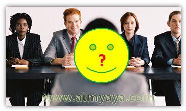 Gambar: ilustrasi wawancara saat mencari pekerjaan