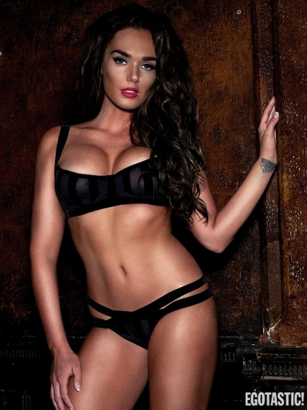 Hot Tamara Ecclestone Lingerie Loaded Magazine November 2012