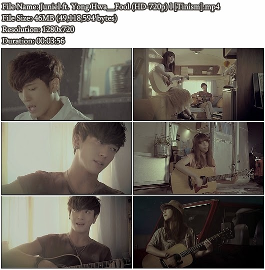 Download MV Juniel (주니엘) ft. Yong Hwa (C.N. Blue) - Fool (HD 720p)