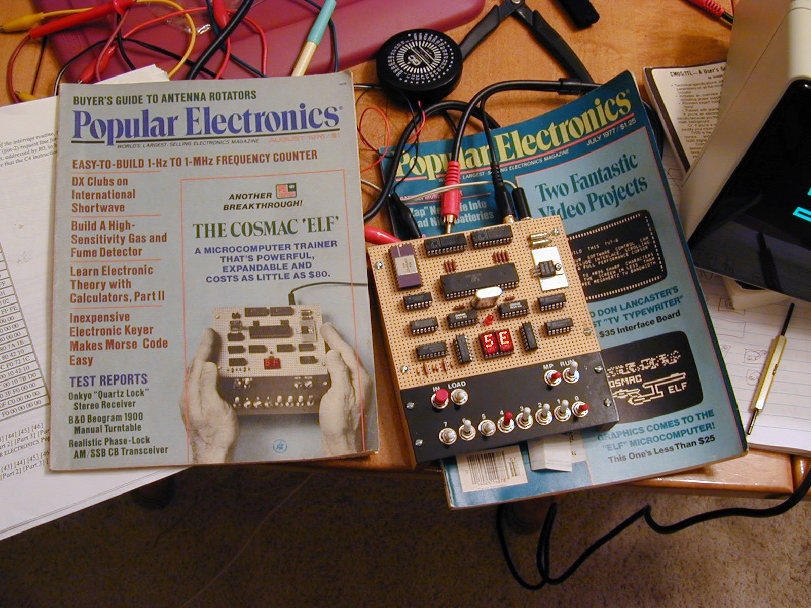 pop electronics - Magazine cover