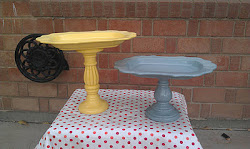 Tall Yellow and Short Stocky Grey (BOTH SOLD)
