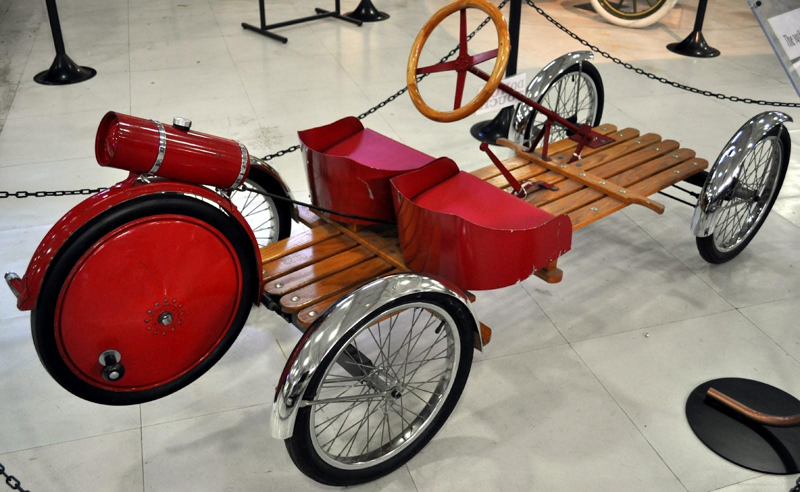 Just A Car Guy 1918 Smith Motor Wheel Model C Buckboard