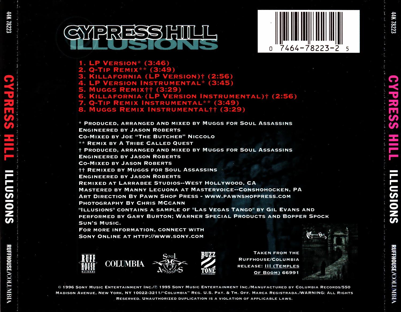 Cypress Hill - Illusions / Killafornia