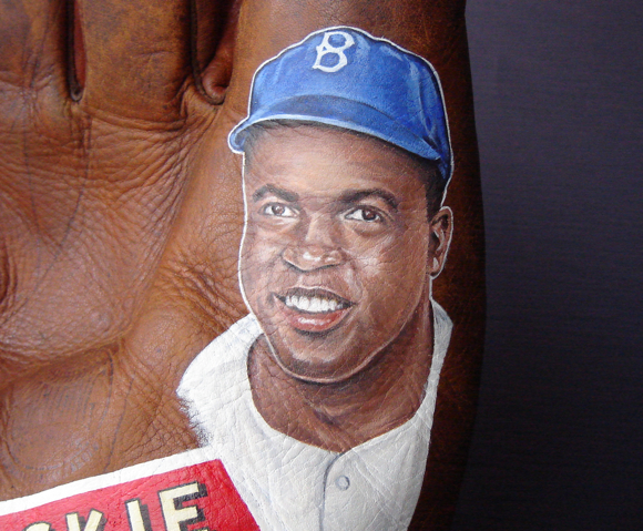 Jackie Robinson Art by Sean Kane