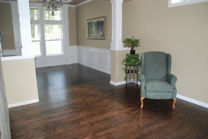 Dark Hardwood Floors Living Room (7 Image)