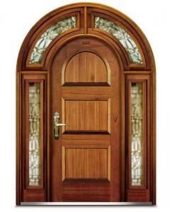 Puertas de madera proyectos de casas for Disenos de puertas en madera y vidrio
