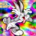 Bugs Bunny Invitaciones o Tarjetas para Imprimir Gratis.