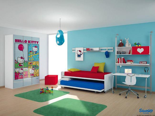 20 excelentes dise o de habitaciones para ni os dise o for Diseno de habitaciones infantiles