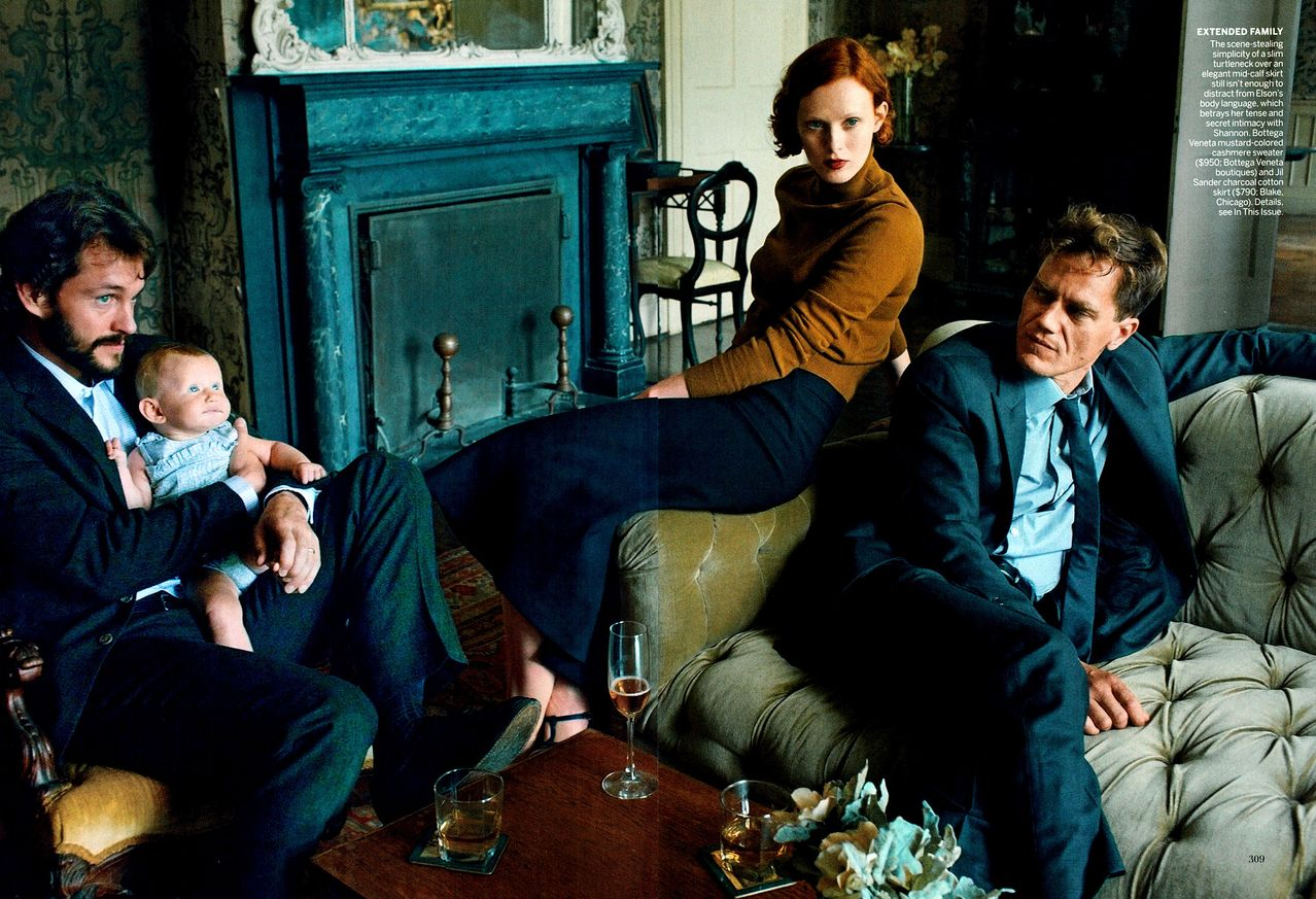 THE SHARPER: Karen Elson, Michael Shannon & Hugh Dancy by ...