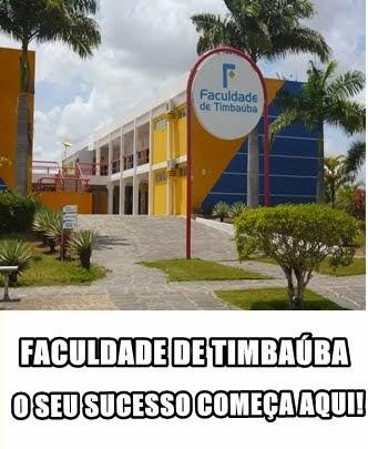FACULDADE DE TIMBAUBA