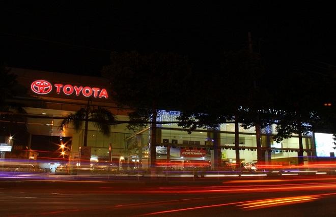 công ty Toyota Ly Thuong Kiet luôn khuyến mãi lớn