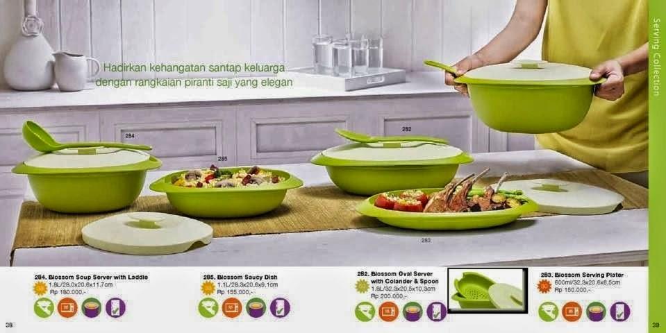 Katalog Tupperware Reguler November 2014 - Serving Collection
