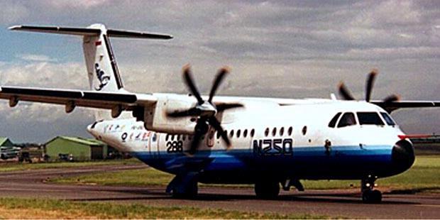 Gambar Pesawat Terbang Gatotkaca N250