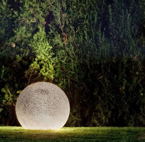 Sponge Lamp for Outdoor lighting design Ideas