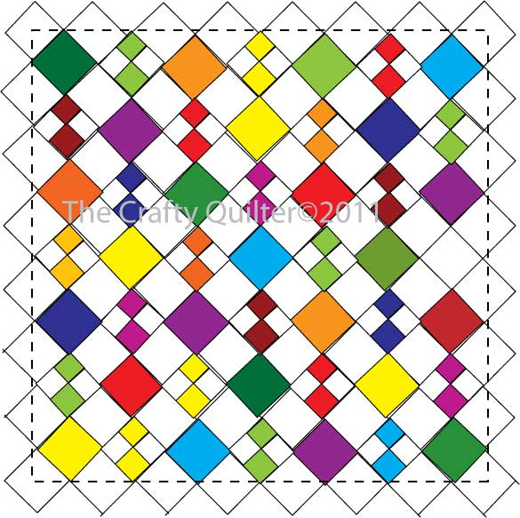 Free Quilt Block Design Program : Diamond Patch Quilt Pattern: Software Free Download - rxbackup