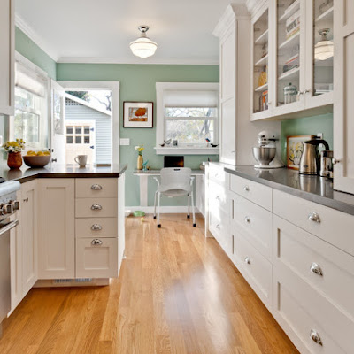 A cores da cozinha para sua casa
