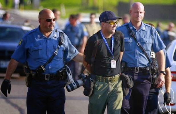 Getty Images photographer Scott Olson arrested in Ferguson