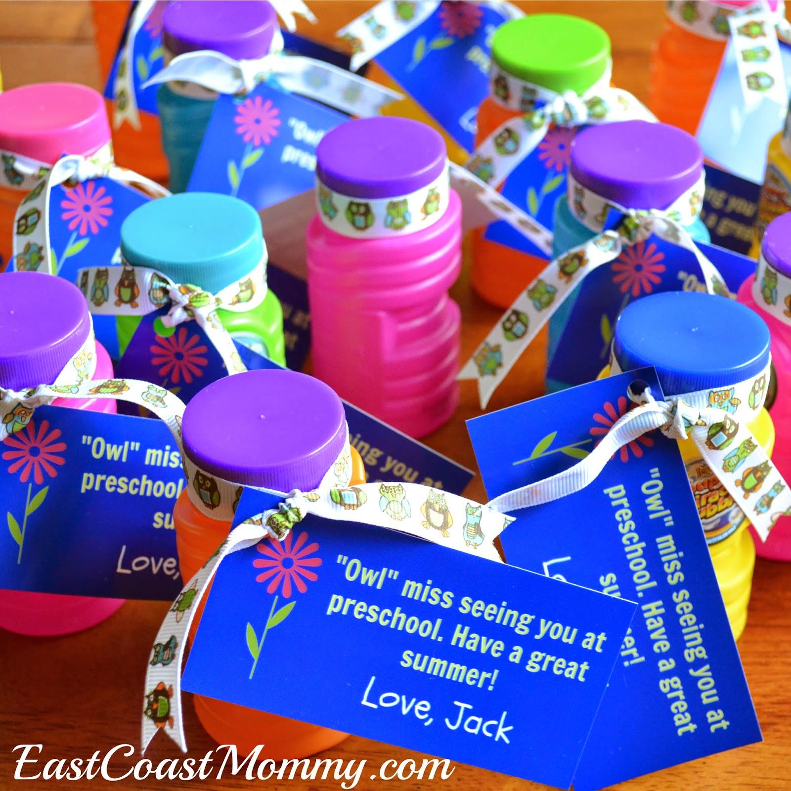 math worksheet : east coast mommy celebrating the last day of preschool : First Day Of School Gift For Preschool Teacher