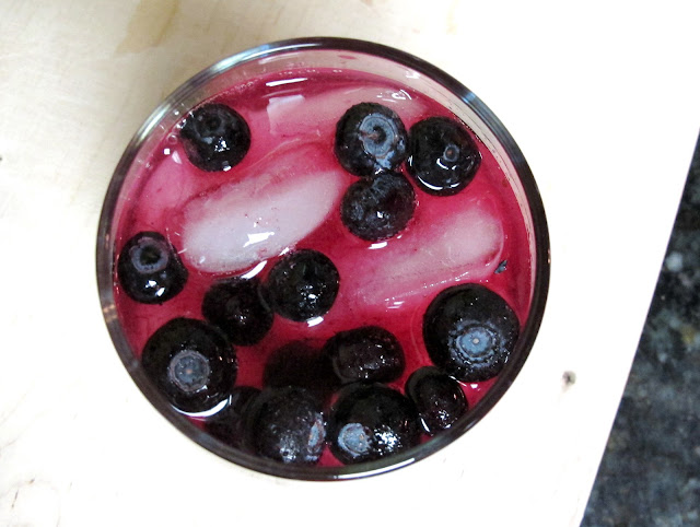 sinless cocktails recipes, blueberry margarita recipe