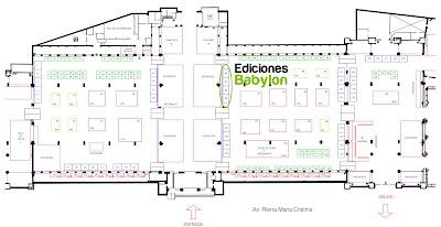 Plano del 30 Salón del Cómic Barcelona