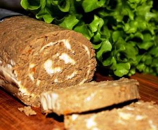Паштет из говяжьей печени со сливочным маслом