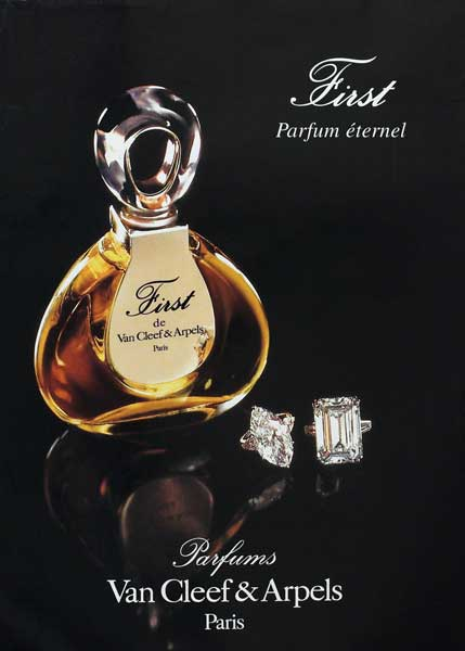 van cleef arpels first vintage perfume the non blonde. Black Bedroom Furniture Sets. Home Design Ideas