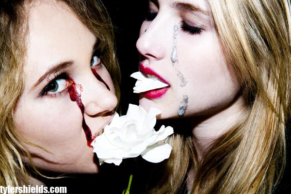 """Lindsay Lohan Mostra Seu Lado """"Obscuro"""" Em Ensaio De Tyler Shields"""
