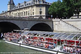 Kapal Pesiar Paris Bateaux Parisiens