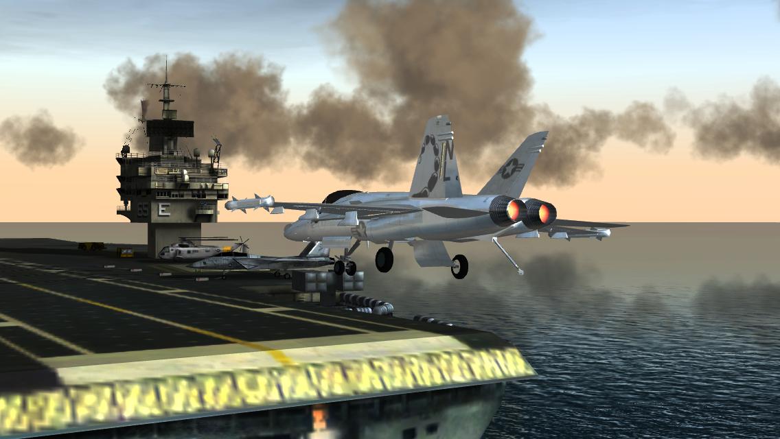 F18 Pilot Flight Simulator Android Game