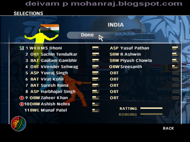 free  ipl cricket game for pc 2012
