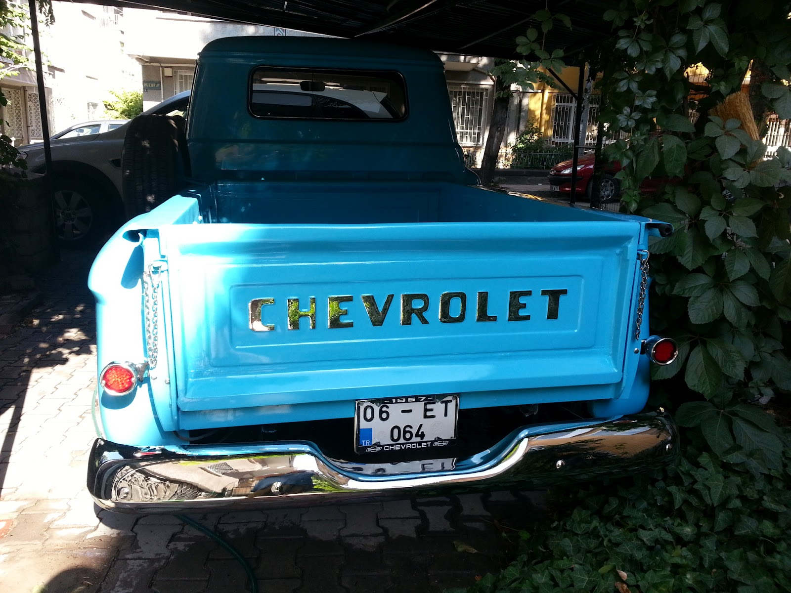 My Vintage Garage by Yavuz     la  an  57 Chevy 3100 Stepside Truck
