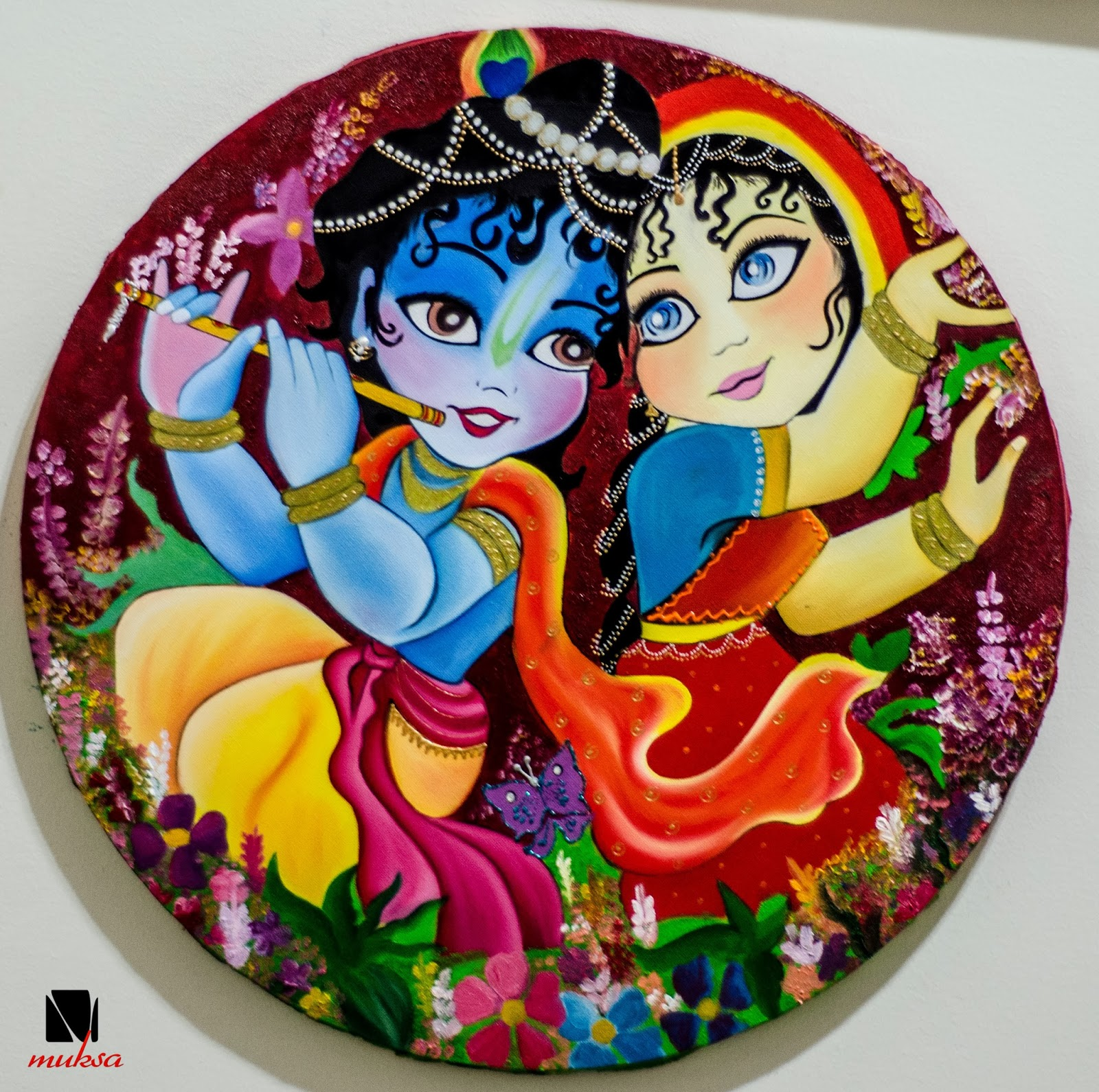 analysis of krishna and radha in They are also central to the development of the krishna bhakti traditions worshiping radha krishna krishna's childhood illustrates the hindu concept of lila.