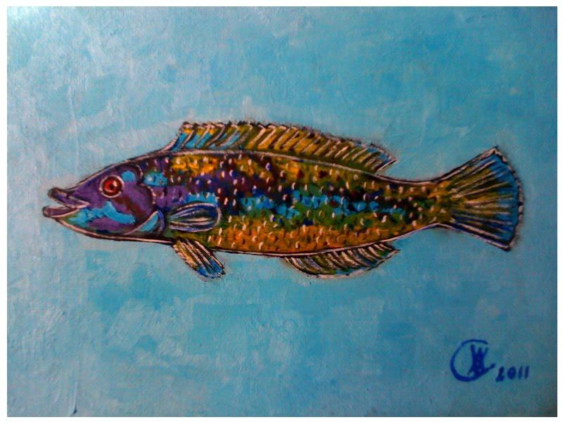 Amalia viciana pinturas cuadros de peces for Cuadros de peces