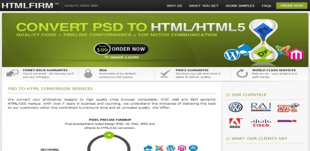 HTMLFirm