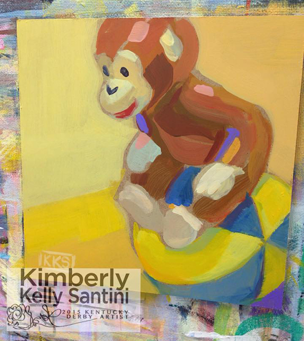 Paintings with soul curious george for Curious george mural