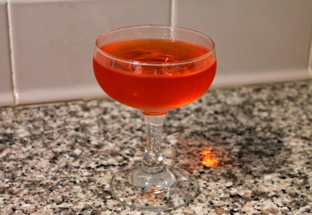 June Sunrise cocktail