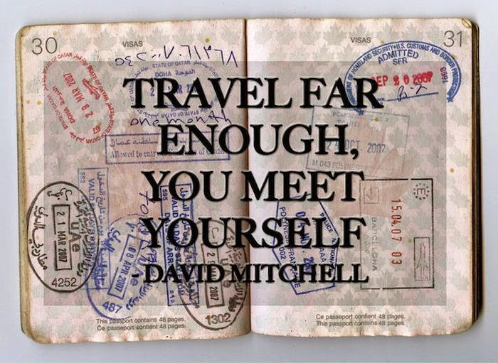 Passport Travel Enough You Meet Yourself