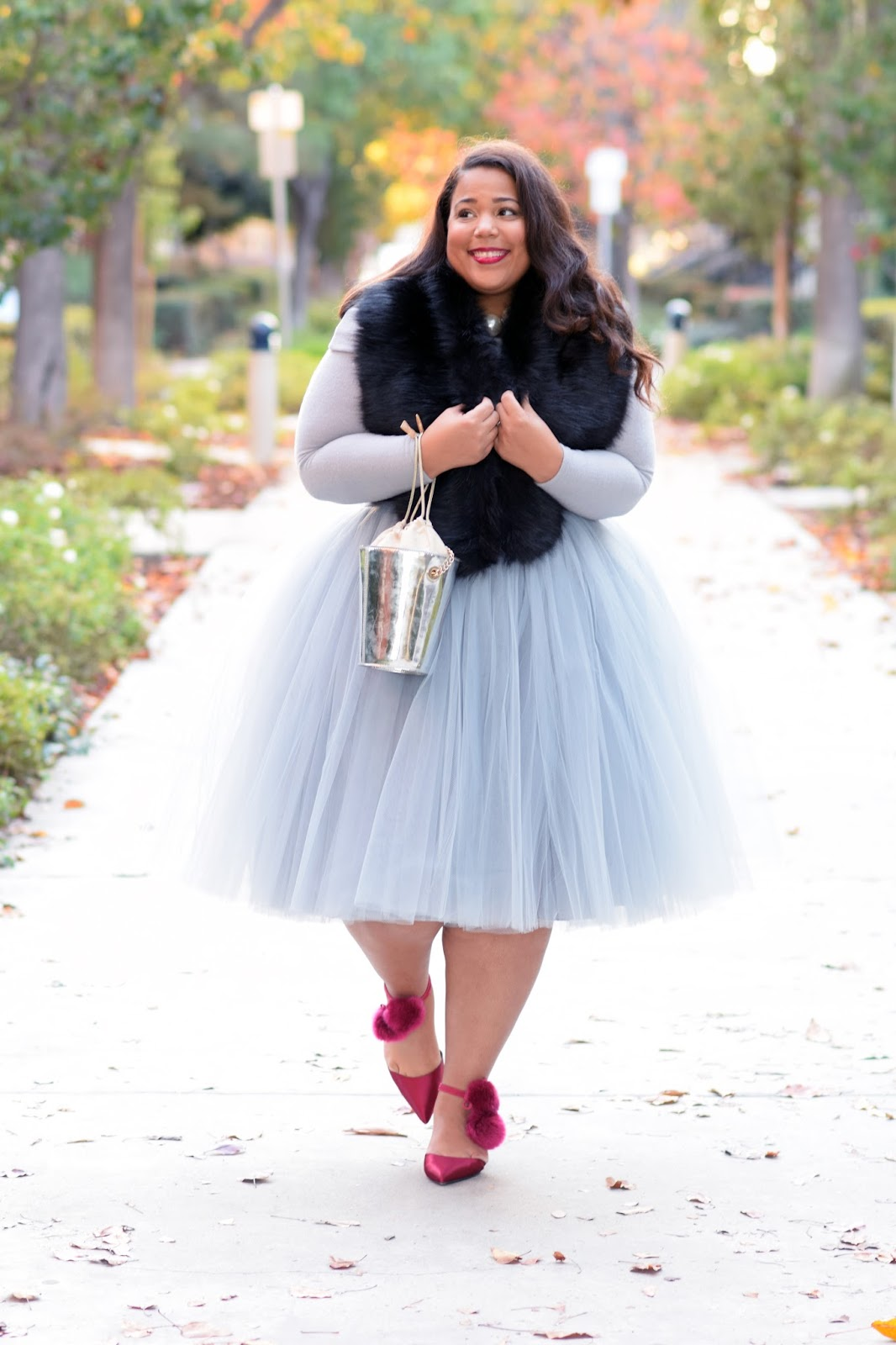 plus size Christmas Party outfit