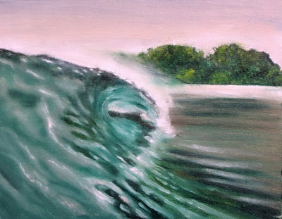 surf art painting