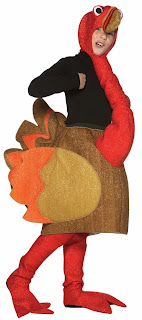 Turkey Child Thanksgiving Day Costume