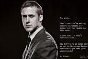 Special Needs Ryan Gosling Week 11