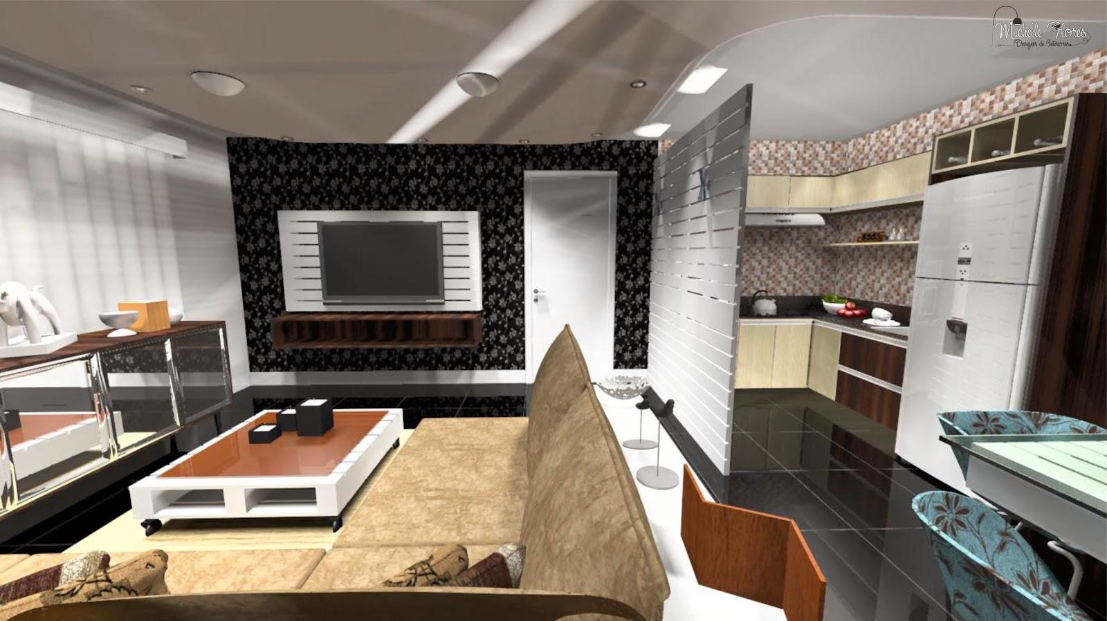 Diviso De Sala E Cozinha Outra Ideia Que Pode Diferenciar A Cozinha  -> Divisor Sala E Cozinha