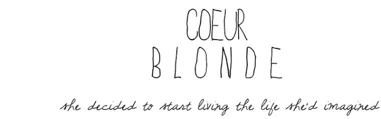 Coeur Blonde