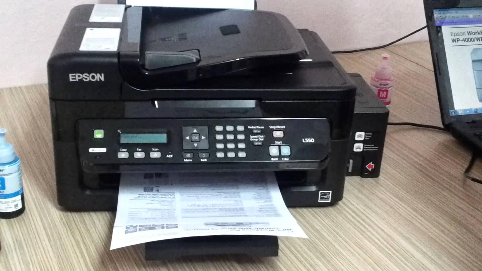impresora con sistema de tinta continua